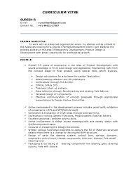 exle of a professional resume for a suresh resume