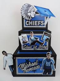graduation card box graduation gift boxes party decorations signs and centerpieces