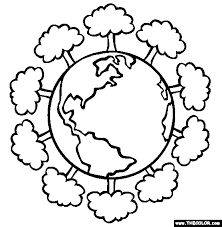 Earth Day Going Green Online Coloring Pages Page 1 Green Coloring Page