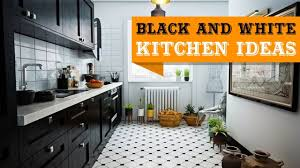 black and white kitchen cabinets 29 black and white kitchen design ideas