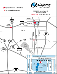 Dallas Airport Map by Opinions Unlimited Maps U0026 Directions