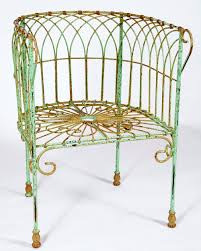 wrought iron chairs patio wrought iron french courting chair