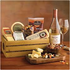 wine and cheese basket 39 wine gift baskets they will dodo burd