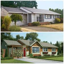 1950s home design ideas 1950s ranch remodel before and after remarkable craftsman inspired