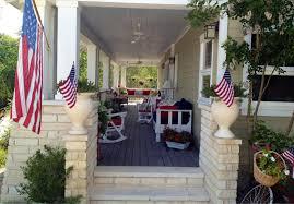 Porch Flag The Cul De Sac A Porch For All Seasons