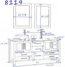 Standard Height Of Kitchen Cabinet Standard Bathroom Vanity Sizes Bathroom Decoration