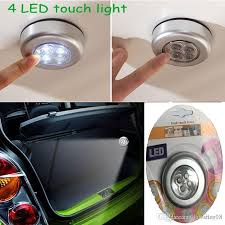 battery powered emergency lights for vehicles discount mini 4 light led touch l batteries powered touch stick