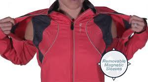 women s bicycle jackets sugoi versa jacket for women youtube