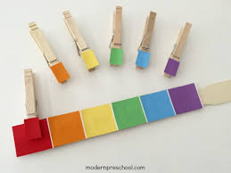 matching paint rainbow paint chip color match