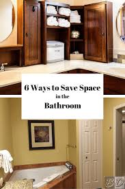 Organizing Bathroom Ideas 6 Space Savers For Small Bathrooms Space Saving Bathroom Ideas