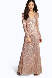boo hoo clothing boutique sequin mesh maxi dress boohoo