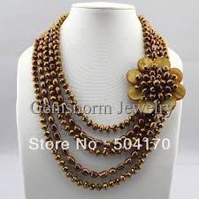 color pearl necklace images Fantastic baroque pearl necklace crystal pearl assorted fashion jpg