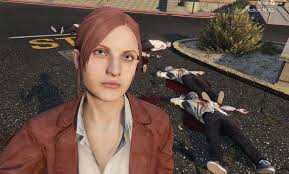 claire redfield resident evil revelation 2 replace ped gta5
