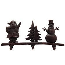 haute decor stocking scrolls stocking holders bronze embossed