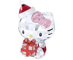 kitty christmas gift usa swarovski shop