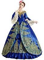 amazon com rolecos womens royal vintage medieval dresses lady