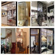 china metal room dividers stainless steel decorative screens