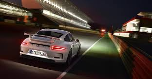 porsche white 911 white porsche 911 gt3 motion night hd wallpaper 15189