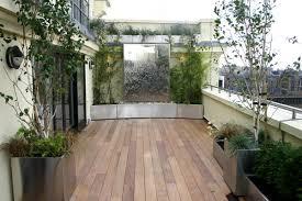 terrace garden wiyh canopy