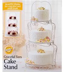 cake tiers wilton graceful tiers cake stand joann