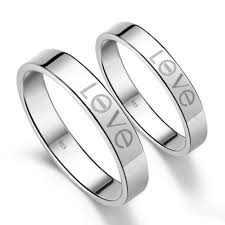 Engravable Rings 27 Best Personalized Engravable Couple Rings Images On Pinterest