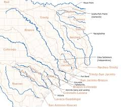 Texas rivers images River map texas my blog jpg