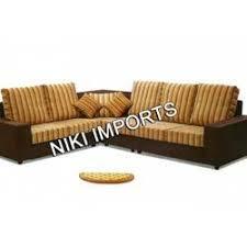 wooden corner sofa set sofa sets horse sofa set rexine from chennai