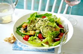 chicken pesto caesar salad tesco real food