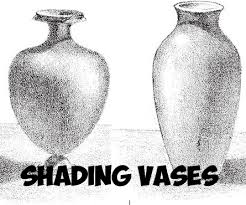 how to shade vases adding shadows to vases drawing tutorial