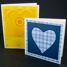 embossed greeting cards tutorial greeting card class
