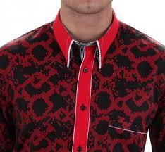 design hemd h k mandel kreative mode für männer designer hemd in rot