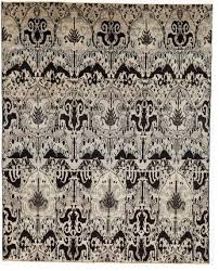 Modern Ikat Rug Stylish Modern Ikat Rug Without Borders Black And White 8x9 8 Area
