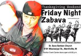 friday zabava features dj spaz from chicago at st sava
