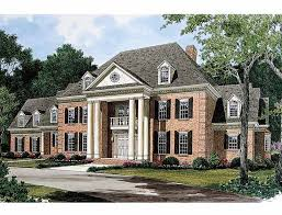 house plans with portico 53 best house images on home plans neoclassical