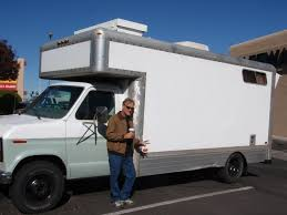 homemade pickup truck homemade rv converted from moving truck