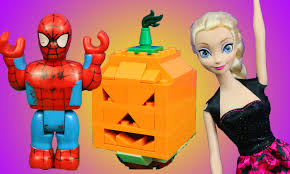 disney princess and superhero lego halloween pumpkin jack o