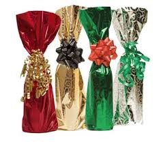 wine bottle gift bags colored mylar foil wine bottle gift bags wholesale pak it products