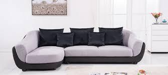 canapé d angle gauche tissu gris colorado