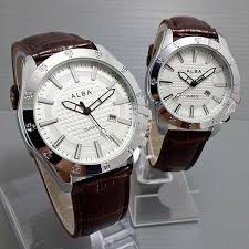 Jam Tangan Alba Pasangan jual jam tangan alba luxy brown white najla
