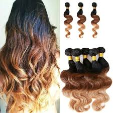 ombre hair extensions 30 7a premium ombre hair extensions three tone color 1b33