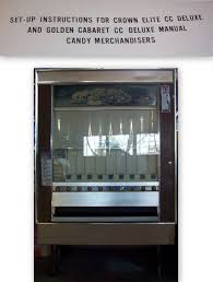 national vendor candy vending machine manual crown cc deluxe my