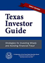 for investors texas state securities board