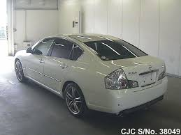 nissan cima 2005 2005 nissan fuga white for sale stock no 38049 japanese used