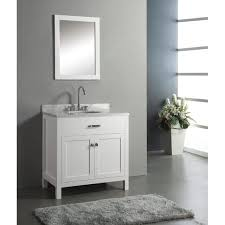 Virtu USA MS Caroline  Single Sink Bathroom Vanity Set In - Virtu usa caroline 36 inch single sink bathroom vanity set