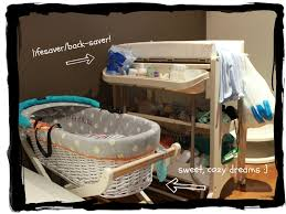 baby changing table basket 2 week post partum update my top 10 the urban ma