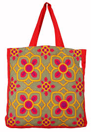 yellow flower tote bag from the exclusive home decor and home