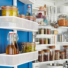 White Elfa Utility Reach In Pantry The Container Store