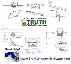 Awning Window Mechanism Truth Window Hardware Casement Awning Window Hardware Parts