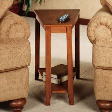 wedge shaped end table wedge shaped side table side tables ideas