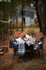 best 25 outdoor thanksgiving ideas on fall table
